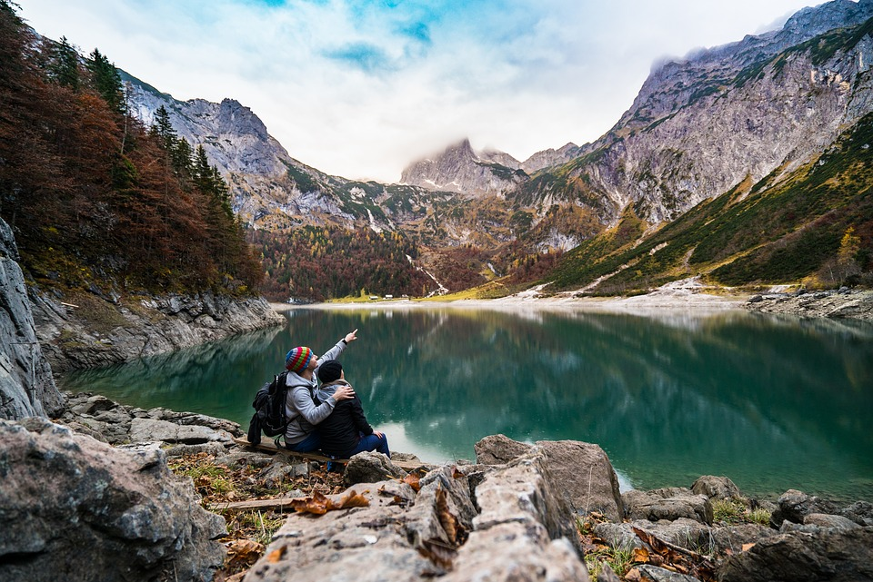 love at a mountain