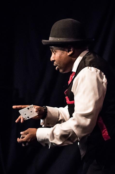 magician black