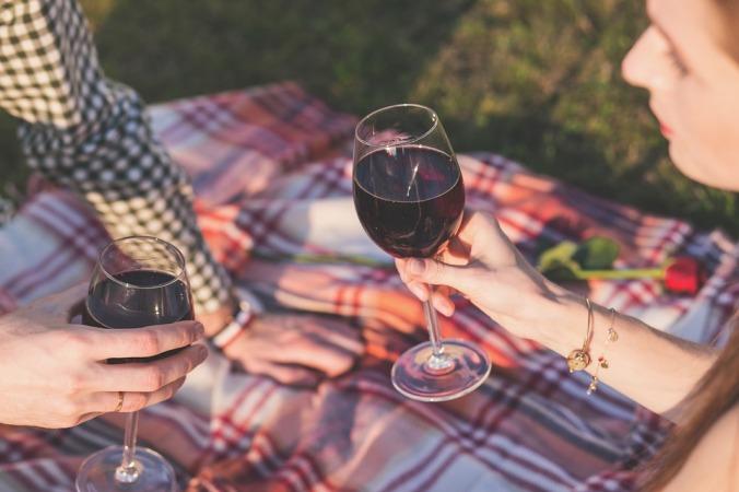 wine cheering