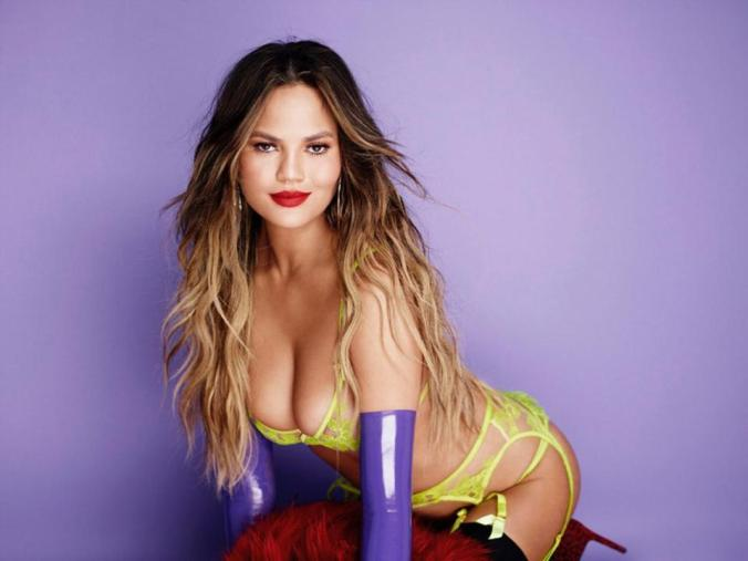 chrissy teigen the sun